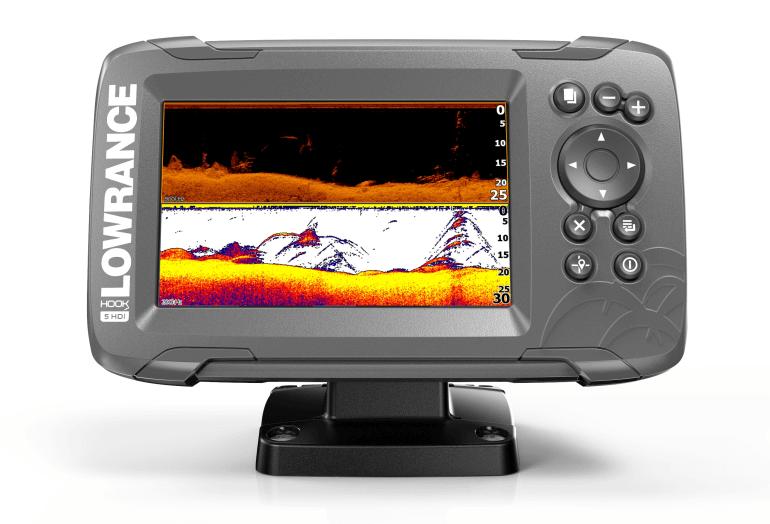 c49bd3a04 Novinka Lowrance HOOK2-5HDI Combo SplitShot - Sonarové novinky - Sonary na  ryby, WIFI sonary, GPS, RADARY